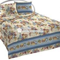 """Ткань для постельного белья, 220 см """"Роскошный  букет""""  ГОСТ"""