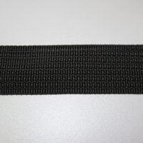 Фото 11 - Лента прикладная , цвет черный.