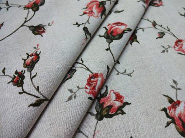 """Фото 3 - Ткань плательная """"розы""""."""