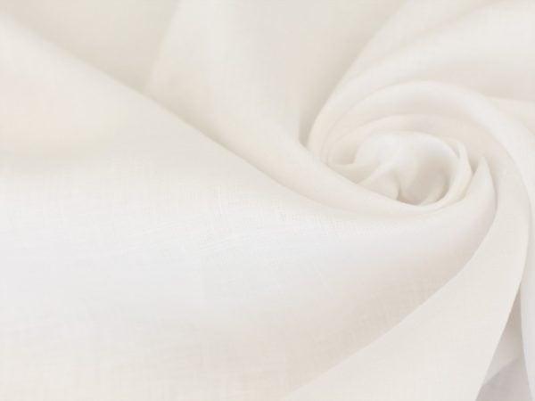 Фото 4 - Льняная ткань отбеленная ширина 220 см, лен 100%.