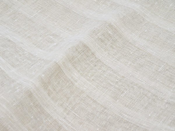 Фото 5 - Ткань декоративная, полосы, молочная.