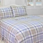 Фото 5 - Комплект постельного белья 220*210 лен 100% (простыня на резинке).