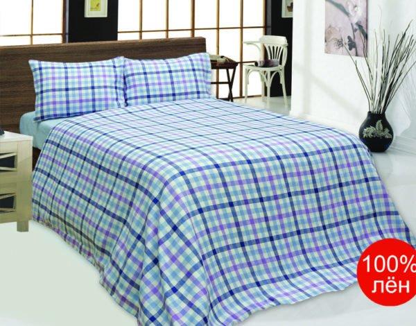 Комплект постельного двуспальный, лен 100%