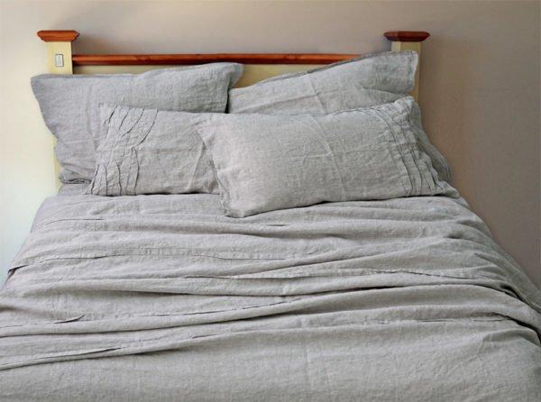 """Фото 3 - Комплект постельного белья из умягченного льна """"Лиана""""."""