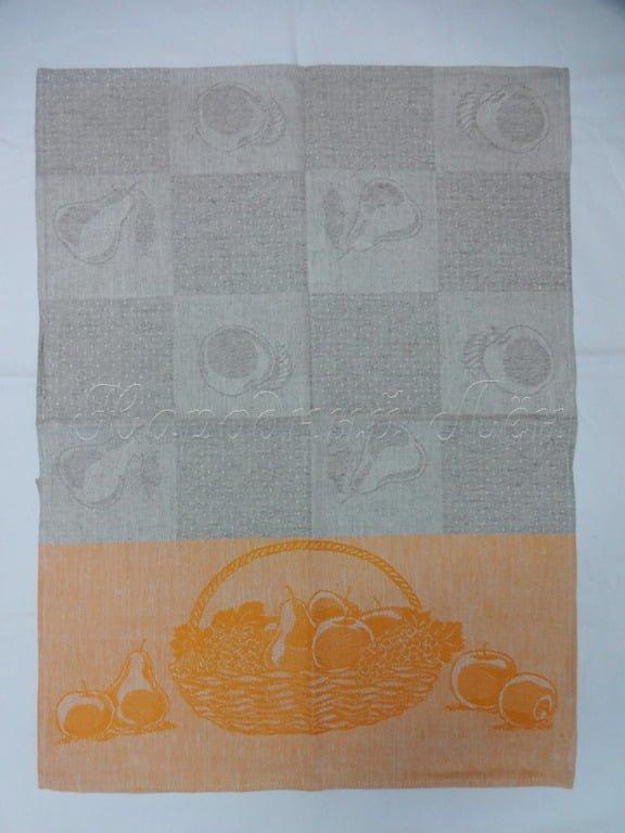 Фото 7 - Полотенце льняное жаккардовое.