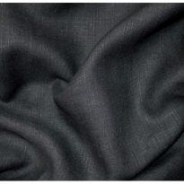 Фото 25 - Ткань льняная черная лен 100%.