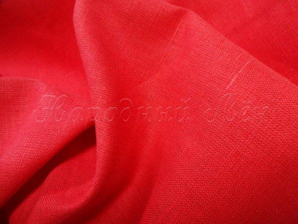 Фото 5 - Бязь   цвет  красный насыщенный.