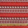 "Фото 8 - Льняная  ткань ""Олени"" красная."