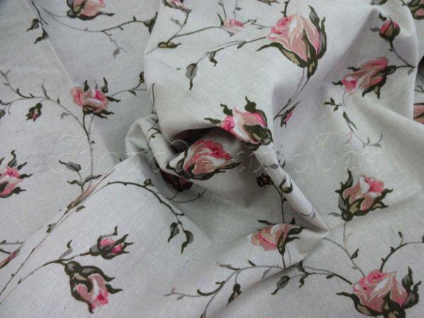 """Фото 4 - Ткань плательная """"розы""""."""