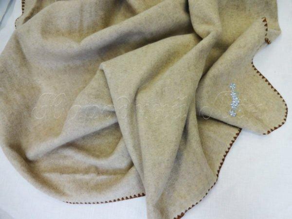 """Фото 5 - Одеяло """"ЭКО"""" шерсть лен  детское."""