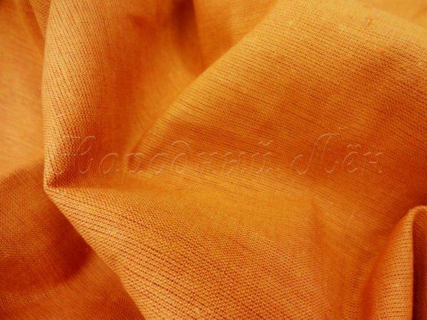 Фото 6 - Ткань льняная цвета карри.