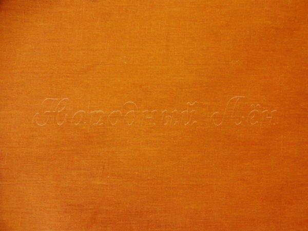 Фото 5 - Ткань льняная цвета карри.