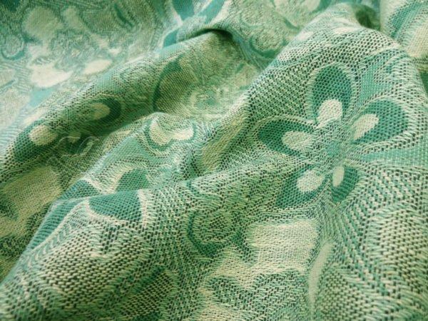 Ткань  льняная  костюмная  жаккардовая