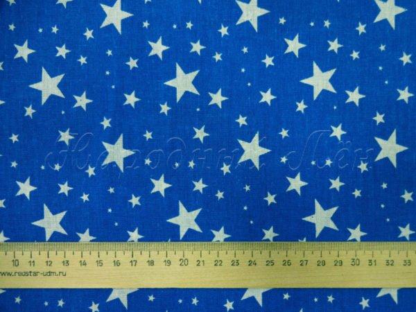 Фото 5 - Звезды белые на синем.
