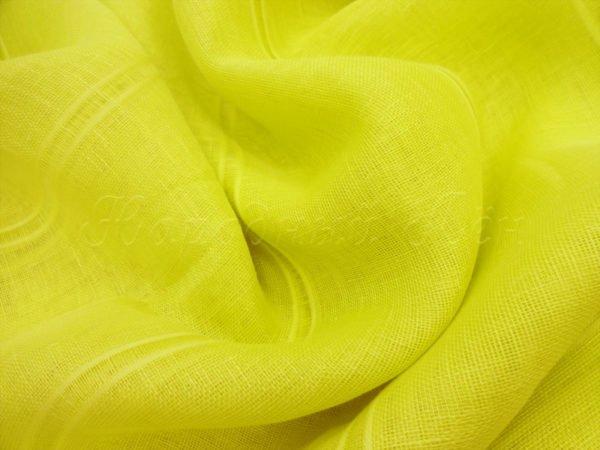 Фото 6 - Вуаль лимонно-жёлтая, шир. 2.6м.
