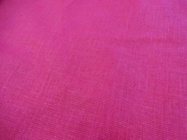 Фото 4 - Ткань льняная цвета  фуксии.