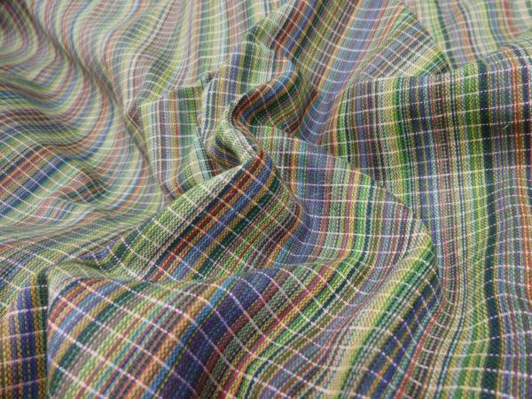 Фото 7 - Ткань пестротканная (зеленая).