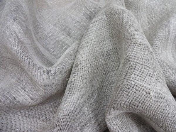 Фото 6 - Ткань льняная декоративная (полосы).