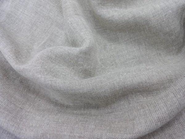 Фото 5 - Вуаль льняная, цвета небеленого льна.
