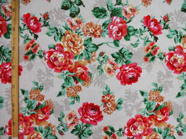 """Фото 8 - Двунитка  """"цветы"""" (красные)."""
