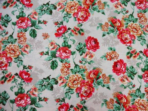 """Фото 5 - Двунитка  """"цветы"""" (красные)."""