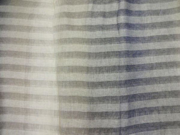"Фото 6 - Ткань декоративная  ""Голубые  тени"", ширина 205см, лен-100."