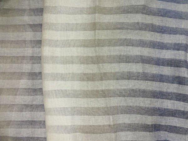 "Фото 8 - Ткань декоративная  ""Голубые  тени"", ширина 205см, лен-100."