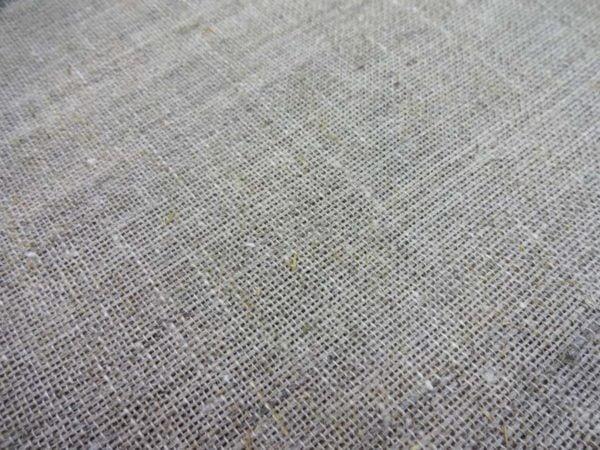 Фото 6 - Холст крупнозернистый, 100% лен, ширина 2.10м.