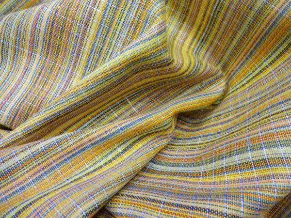 Фото 6 - Ткань пестротканная (желтая).