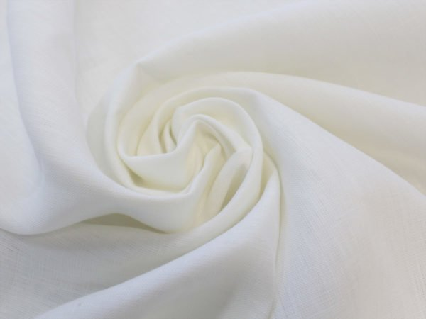 Фото 3 - Льняная ткань отбеленная, ширина 2.6м лен 100%.