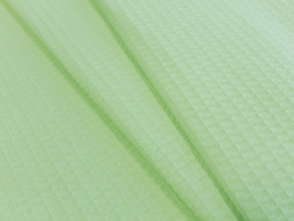 """Вафельное полотно """"Домашнее""""  (Зеленый)"""