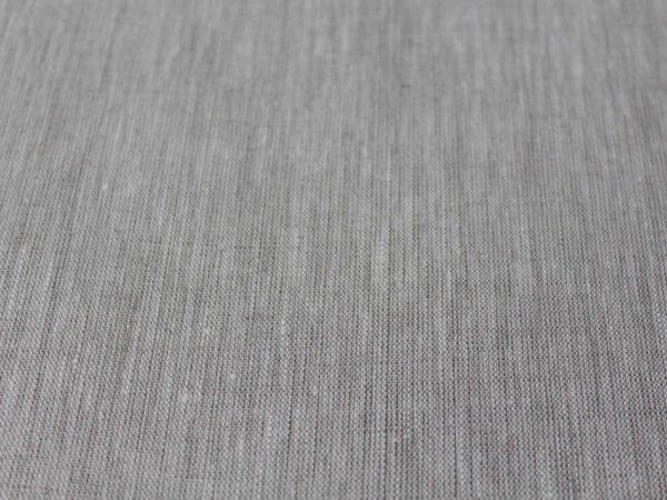 Фото 5 - Льняная ткань  суровая, меланж , ширина 2.6м лен 100%.