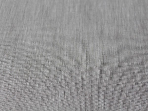 Фото 4 - Льняная ткань цвета небеленого льна, ширина 260 см лен 100%.