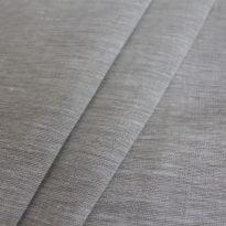 Фото 13 - Льняная ткань суровая, меланж, ширина 260 см лен 100%.