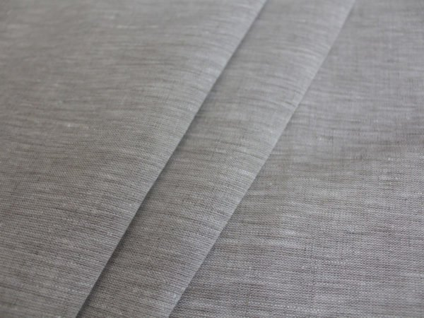 Фото 5 - Льняная ткань цвета небеленого льна, ширина 260 см лен 100%.