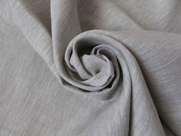 Фото 6 - Льняная ткань  суровая, меланж , ширина 2.6м лен 100%.