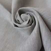 Фото 6 - Льняная ткань цвета небеленого льна, ширина 260 см лен 100%.