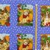 """Фото 9 - Вафельное полотно """"Собачки"""" голубое, 1 купон - 60 см."""