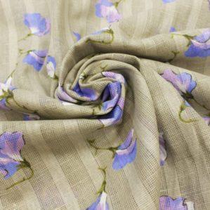 Льняные ткани декоративные