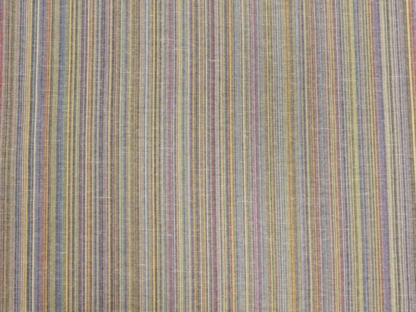 Фото 7 - Ткань льняная с цветными просновками, ширина 150 см.