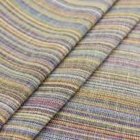 Ткань льняная  с цветными просновками, ширина 1,5 м