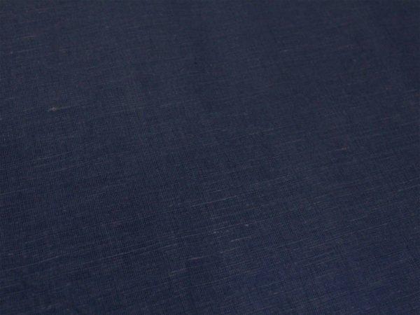 Фото 4 - Ткань льняная синяя.