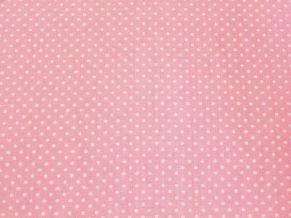 Очень мелкий горох на розовом