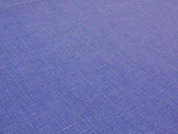 Фото 7 - Ткань льняная  голубая ширина 2,2м лен 100%.