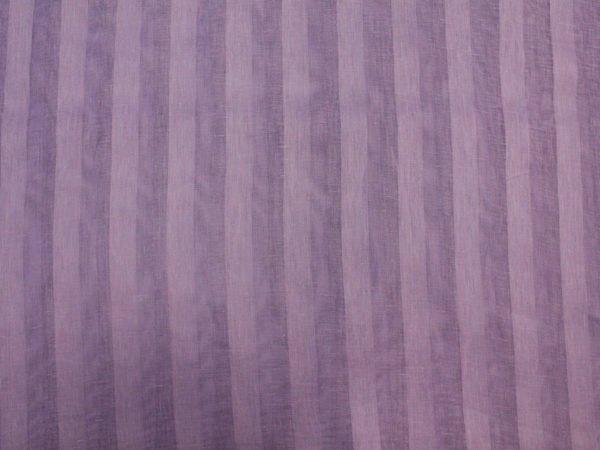 Фото 4 - Вуаль сиреневая, ширина 2.6м  лен 100%.