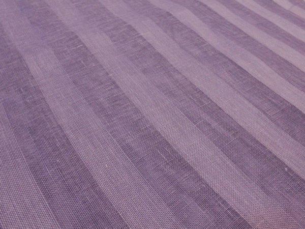 Фото 6 - Вуаль сиреневая, ширина 2.6м  лен 100%.