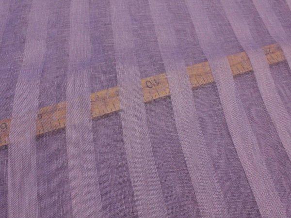 Фото 7 - Вуаль сиреневая, ширина 2.6м  лен 100%.