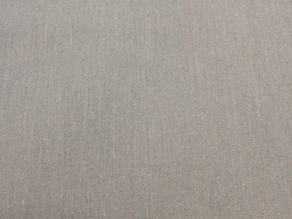Фото 4 - Льняная ткань для постельного белья цвета небеленого льна, ширина 2.2м.