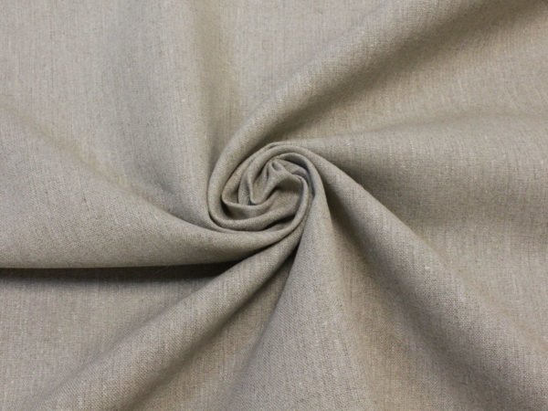 Фото 6 - Льняная ткань для постельного белья цвета небеленого льна, ширина 2.2м.