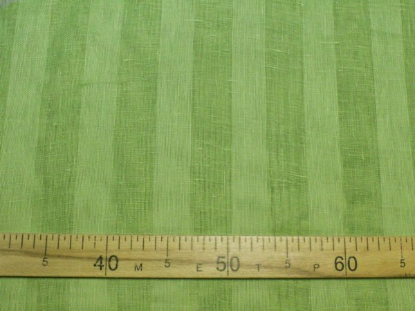 Фото 7 - Вуаль светло-зеленая, ширина 2.6м  лен 100%.